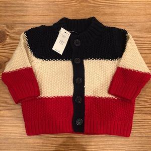 Baby Gap boys NWT new cardigan sweater 3-6 months